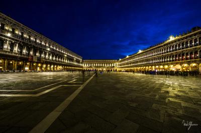 Evening Walk - Venice, Italy - 24x36 - $1150