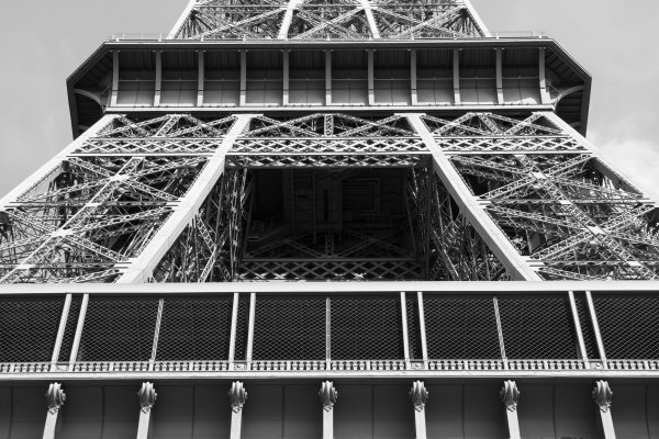 Eiffel from Below