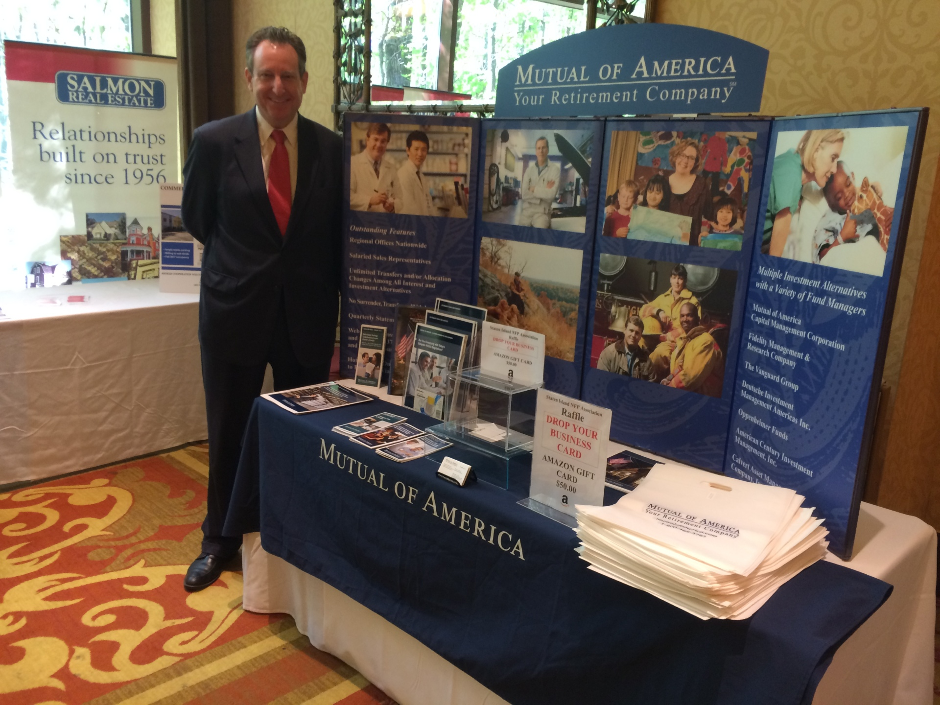 Vendors Row: Mutual of America