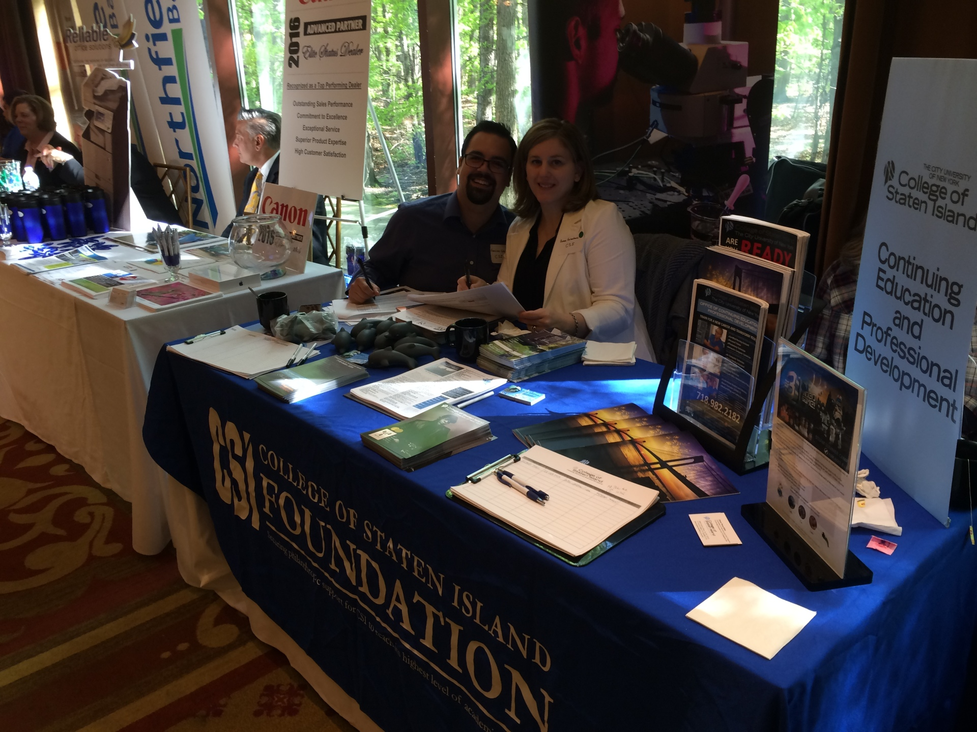 Vendors Row: College of Staten Island Foundation