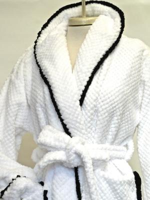 DOUBLE SIDED PLUSH WAFFLE (white) $225.00