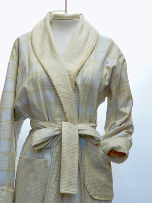 100% COTTON YARN DYED plaid one  $210.00