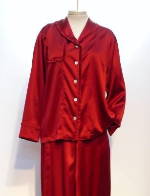 SILK PAJAMAS CLASSIC ruby  $365.00