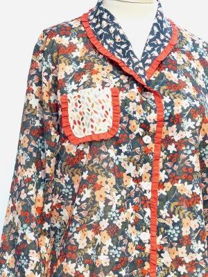 100% COTTON VOILE Pajama set $195.00