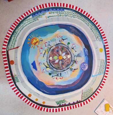 L.A. Cosmology Floor Mat