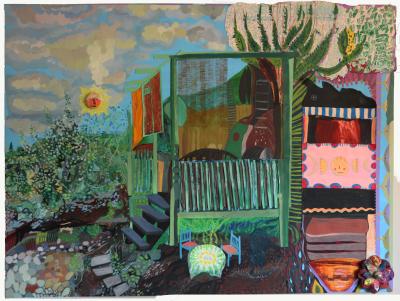 Saltbush and Portal, Kitchen and Studio