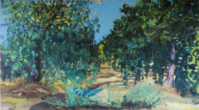 Song Before Harvest (Mexican Pine, Mugwort, Coast Live Oak)