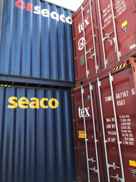 الفائده من استئجار حاويات الشحن من رصيف