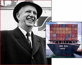 مخترع حاويات الشحن - مالكوم ماكلين