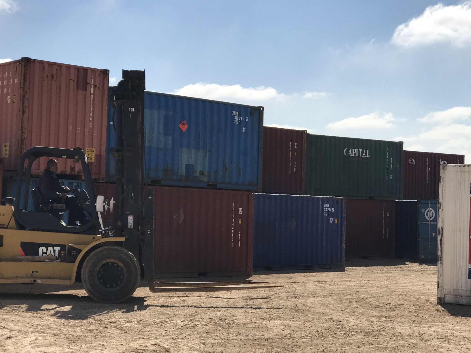 Used Shipping Containers in jordan