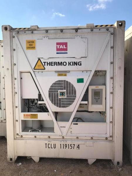 40'hc reefer containers for sale