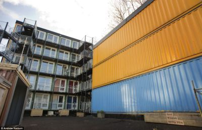 Housing Shipping Containers