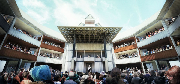 Shakespeare Goes Punk: A Shipping Container Globe Theatre
