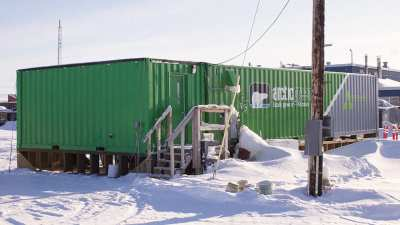 Shipping Container Farms in the Arctic?