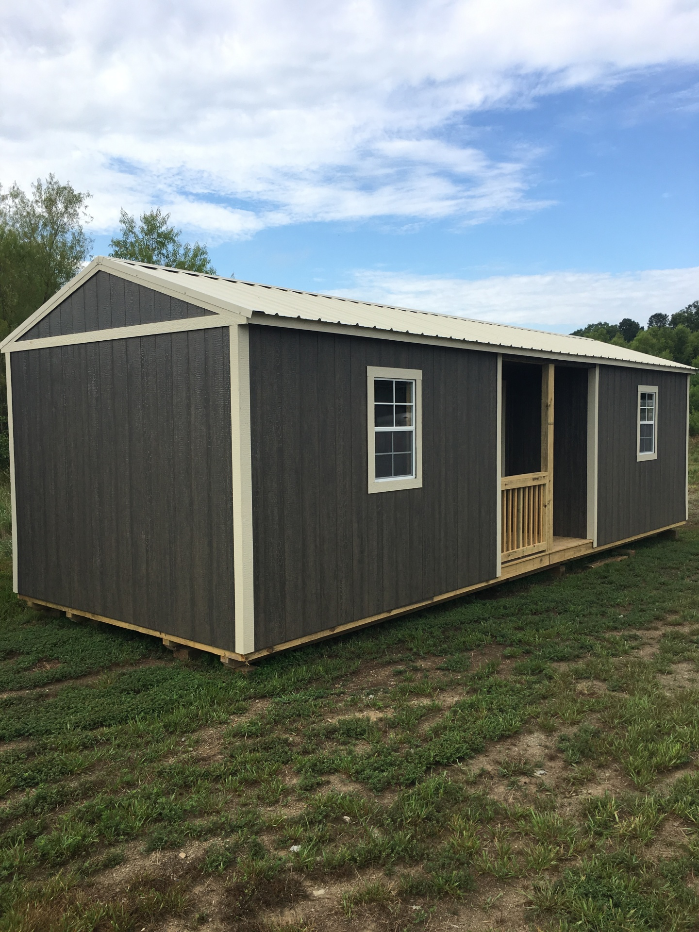 tiny home, office, storage, she cave, man cave, portable building, shed