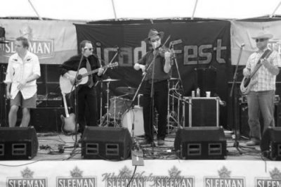 With Blackberry Blossom at Cicada Fest in St. Catharines, ON