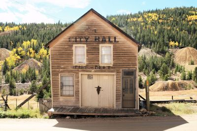 Nevadaville, CO:  survey of historic resources for National Historic Landmark district