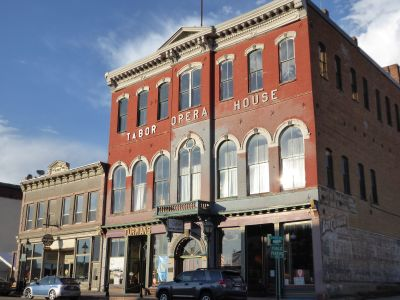 Leadville, CO:  Tabor Opera House - multiple grant applications for acquisition