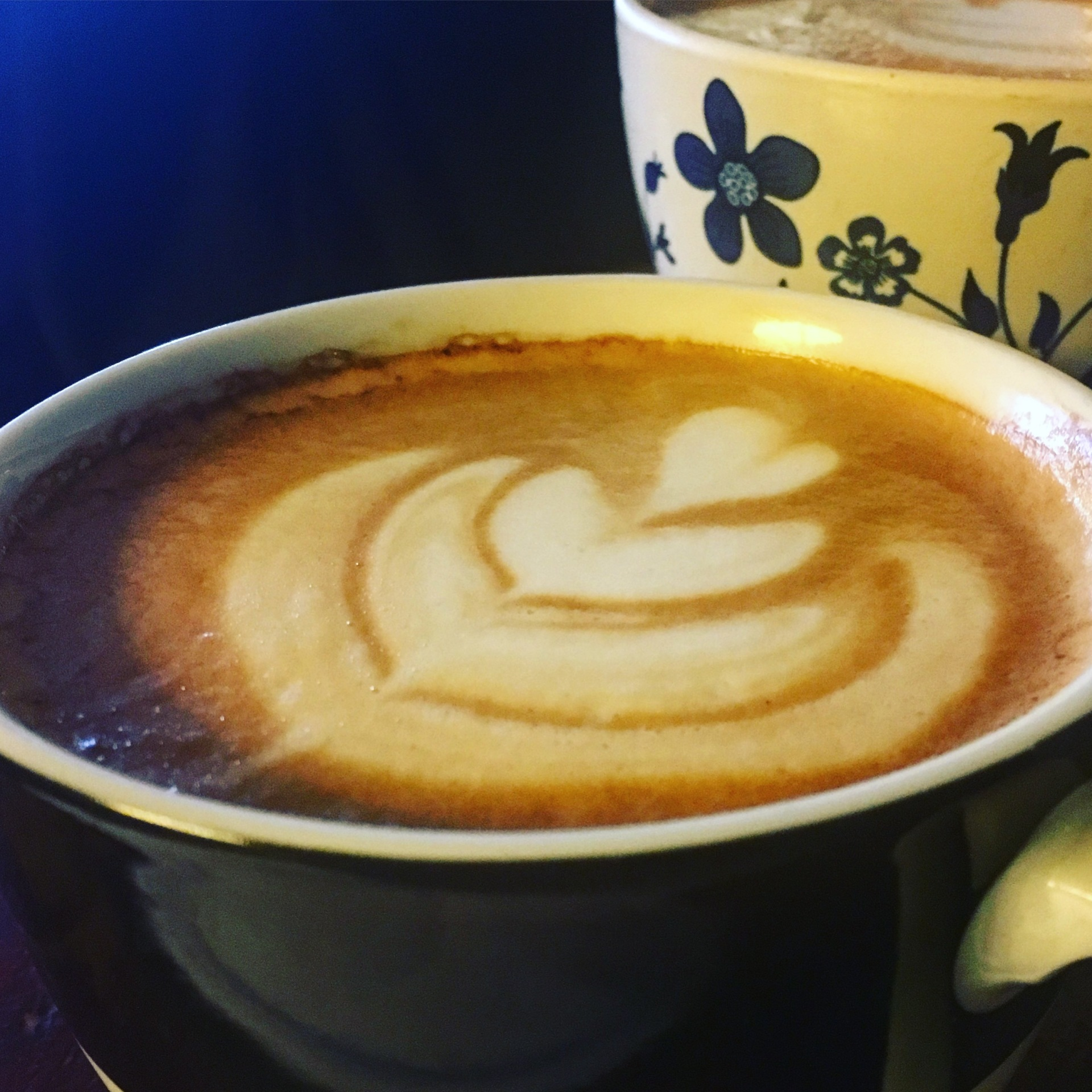 some fancy latte art!