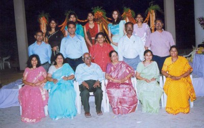 Bonala Kishen Rao annaya's family
