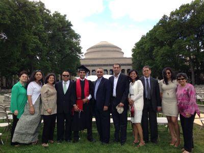 Sudhir & family