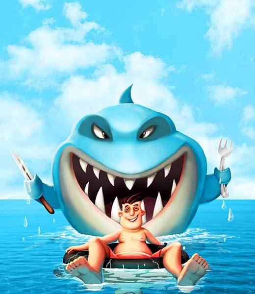Shark dinner