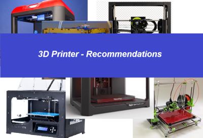 Things to consider when buying a 3D printer…