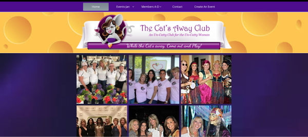 Cat's Away Club Home Page
