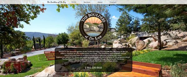 Boulders of De Luz Weddings & Events