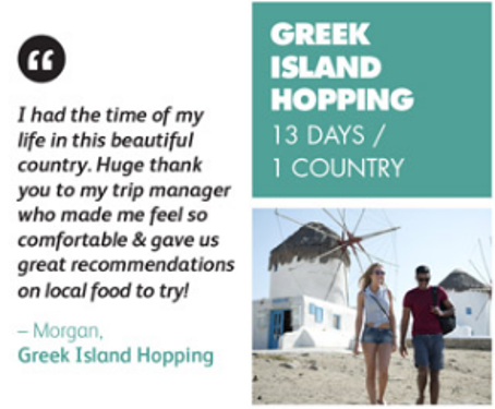 Greek Island Hopping Review