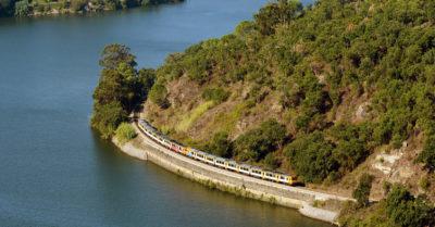 PORTUGUESE GREETINGS - TRAIN TRIP