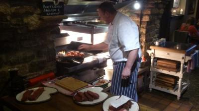 Restaurant Grill at The Fox & Hounds in Riseley, Beds.