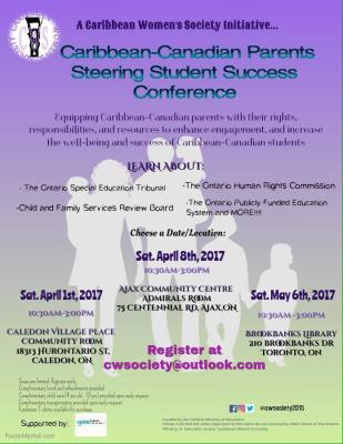 Caribbean-Canadian Parents Conference