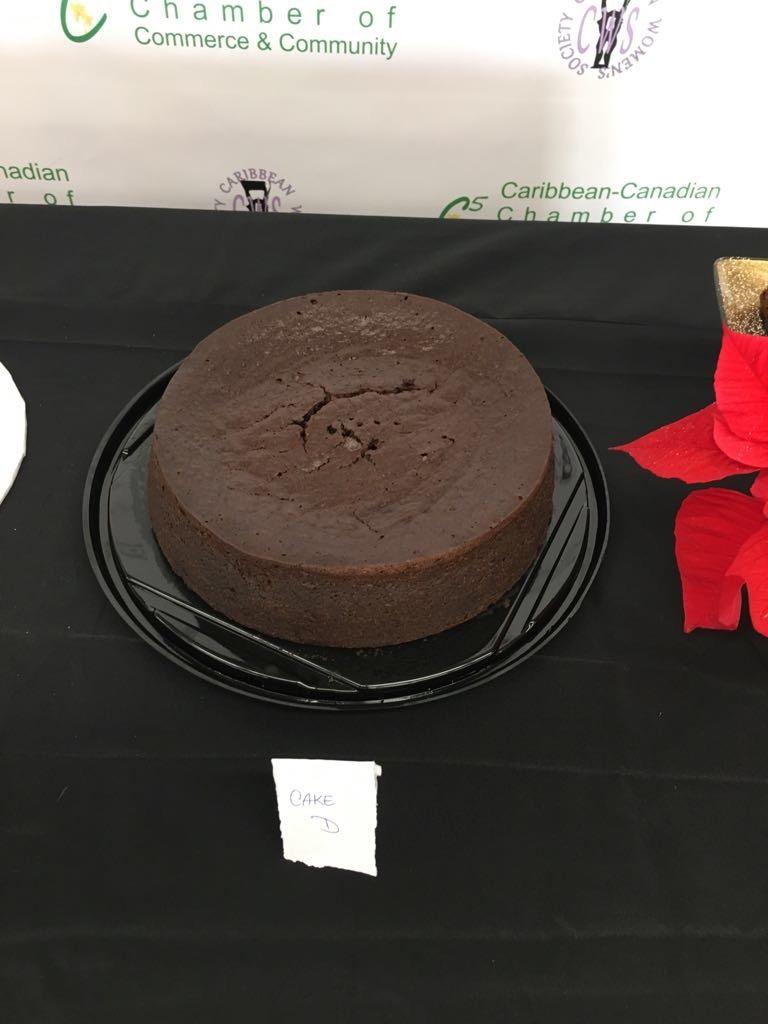 "Professional Cake Winner: Dwight Peterkin ""The Rum Cake Factory"" (GTA)"