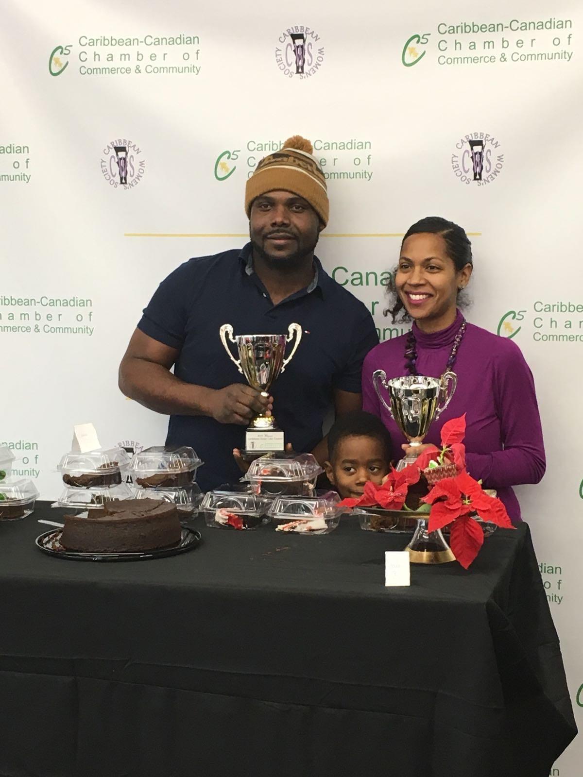 Caribbean Christmas Cake Contest - December 16, 2017