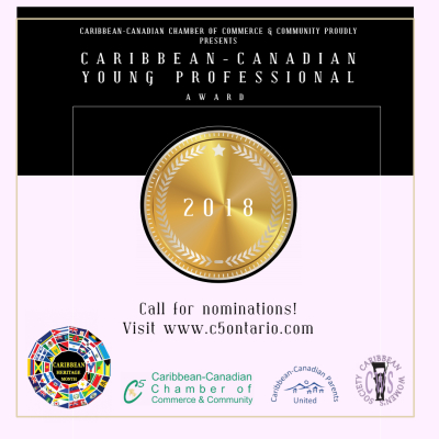 Caribbean-Canadian Young Professional Award