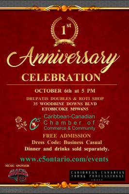 C5 Anniversary Dinner & Celebration