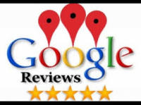 5 star reviews on Google Maps
