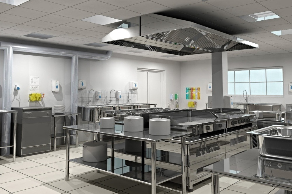 Commercial Kitchen Cleaning / Nettoyage de cuisine commercial