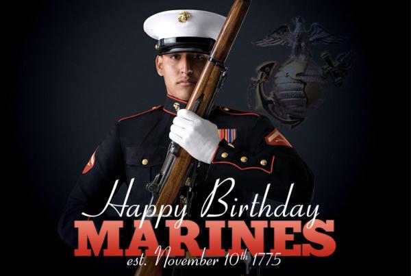 Happy Birthday Marines