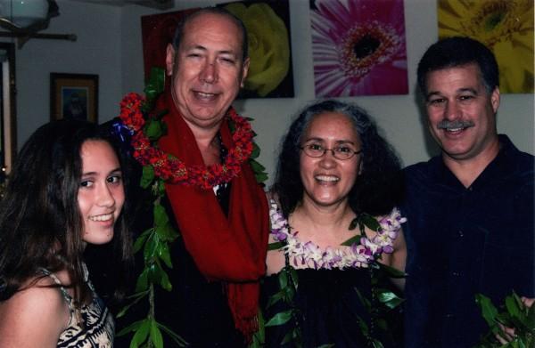 Edgar ʻOhana with Kumu