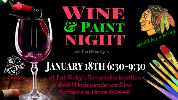 Wine and Paint Night @ Fat Ricky's