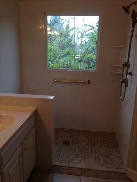 Custom Shower Solution