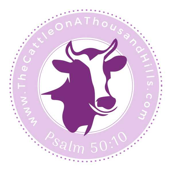 The Cattle On A Thousand Hills Logo Empowering Christians to be better stewards of creation