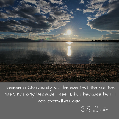 Christianity quote by C. S. Lewis