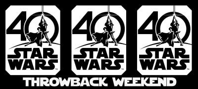 Throwback / Star Wars Weekend