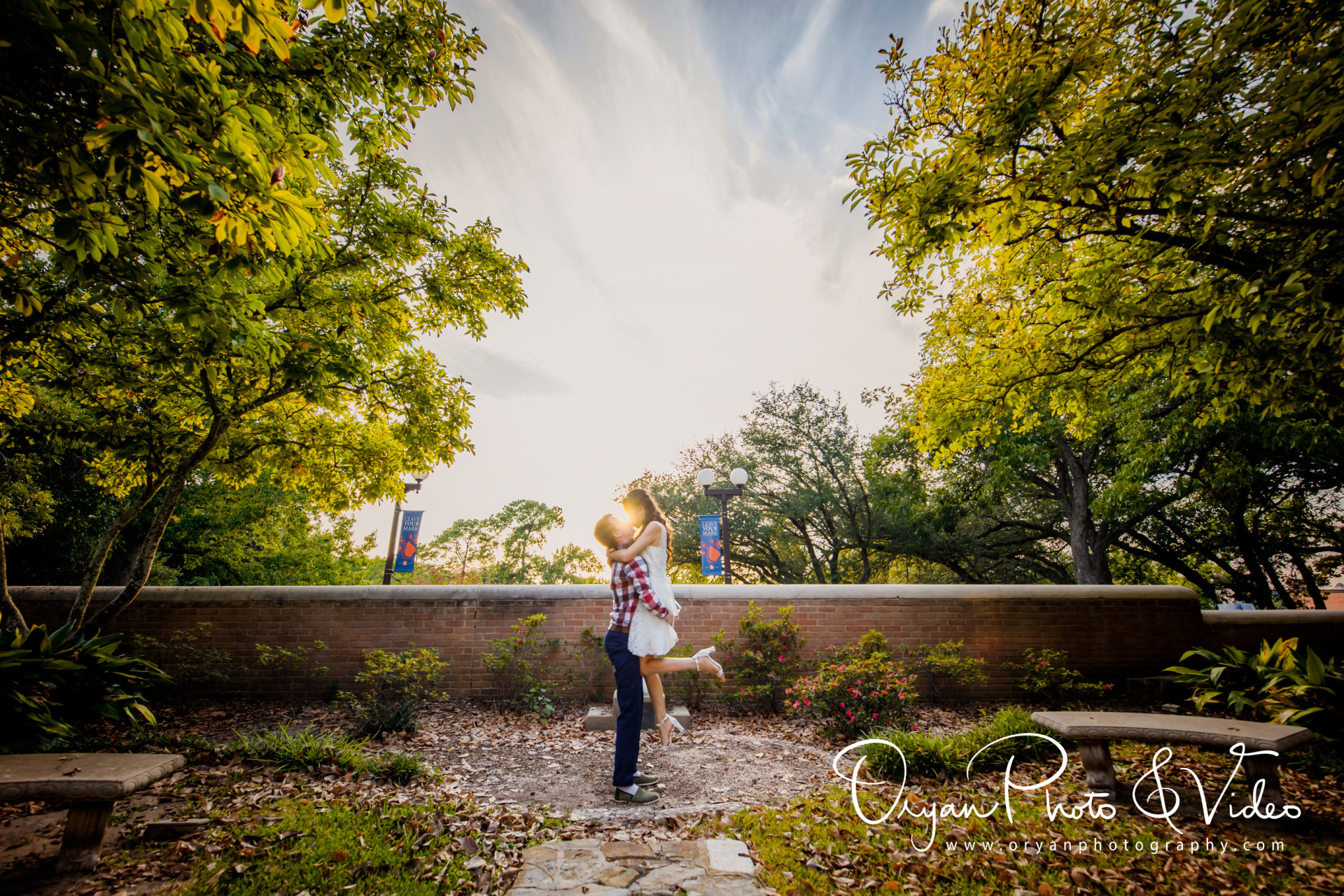 Melody-Kevin Engagement at Sam Houston State University
