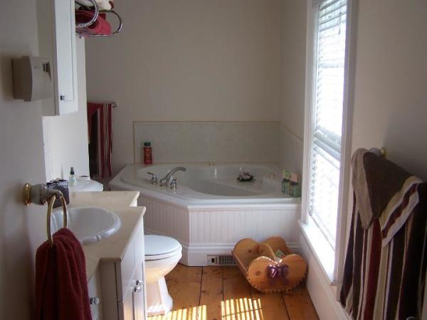 en-suite jacuzzi tub