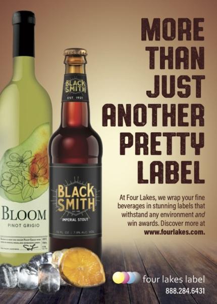 Beverage Label Ad