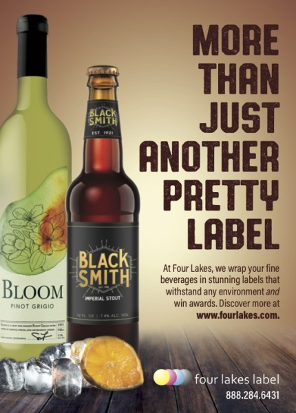 Beverage Label Ad